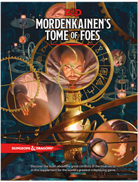 Dungeons & Dragons 5th Mordenkainen's Tome of Foes