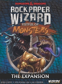 Dungeons & Dragons Rock Paper Wizard Expansion: Fistful of Monsters