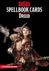 Dungeons & Dragons 5th Spellbook Cards: Druid