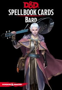 Dungeons & Dragons 5th Spellbook Cards: Bard