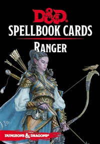 Dungeons & Dragons 5th Spellbook Cards: Ranger
