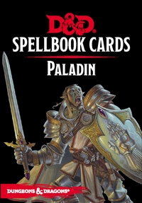 Dungeons & Dragons 5th Spellbook Cards: Paladin