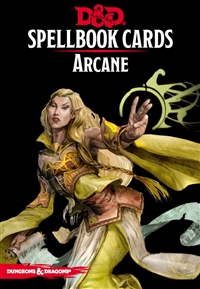 Dungeons & Dragons 5th Spellbook Cards: Arcane