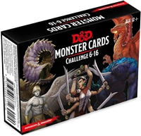 Dungeons & Dragons 5th Monster Cards: Challenge 6-16