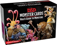 Dungeons & Dragons 5th Monster Cards: Volo's Guide to Monsters