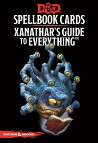 Dungeons & Dragons 5th Spellbook Cards: Xanathar's Guide to Everything