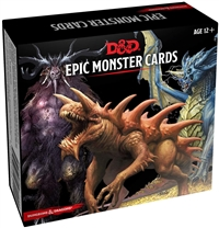 Dungeons & Dragons 5th Epic Monster Cards