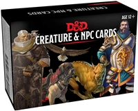 Dungeons & Dragons 5th Creature & NPC Cards
