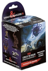 Dungeons & Dragons Icons of the Realms: Monster Menagerie II Booster Pack