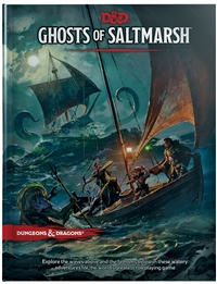 Dungeons & Dragons 5th Ghosts of Saltmarsh
