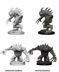 Dungeons & Dragons Nolzur's Marvelous Miniatures: Gray Slaad & Death Slaad