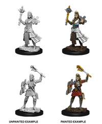 Dungeons & Dragons Nolzur's Marvelous Miniatures: Female Human Cleric