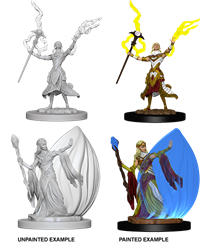 Dungeons & Dragons Nolzur's Marvelous Miniatures: Female Elf Wizard