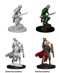 Dungeons & Dragons Nolzur's Marvelous Miniatures: Female Elf Fighter