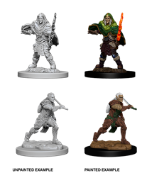 Dungeons & Dragons Nolzur's Marvelous Miniatures: Male Elf Fighter