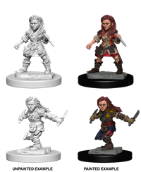 Dungeons & Dragons Nolzur's Marvelous Miniatures: Female Halfling Rogue
