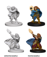 Dungeons & Dragons Nolzur's Marvelous Miniatures: Female Dwarf Wizard