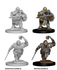 Dungeons & Dragons Nolzur's Marvelous Miniatures: Female Dwarf Fighter