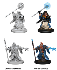 Dungeons & Dragons Nolzur's Marvelous Miniatures: Male Dwarf Wizard
