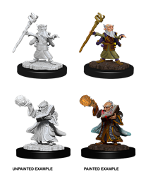 Dungeons & Dragons Nolzur's Marvelous Miniatures: Male Gnome Wizard
