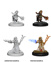 Dungeons & Dragons Nolzur's Marvelous Miniatures: Female Gnome Wizard