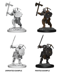 Dungeons & Dragons Nolzur's Marvelous Miniatures: Male Earth Genasi Fighter