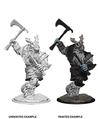 Dungeons & Dragons Nolzur's Marvelous Miniatures: Frost Giant