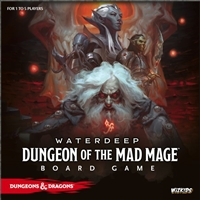 Dungeons & Dragons Dungeon of the Mad Mage Board Game