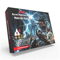 Dungeons & Dragons Nolzur's Marvelous Pigments - Monsters Paint Set