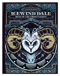 Dungeons & Dragons 5th Icewind Dale Rime of the Frostmaiden - Hobby Store Alternate Collectible Cover