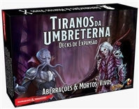 Dungeons & Dragons Tyrants of the Underdark Board Game Expansion Decks - Abberations & Undead