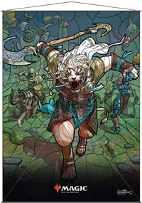 Ultra Pro Wall Scroll 68cmx95cm - Stained Glass Ajani