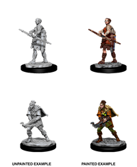 D&D Nolzur's Marvelous Miniatures: Human Ranger Female