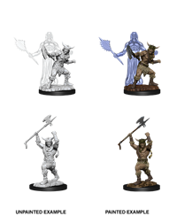 D&D Nolzur's Marvelous Miniatures: Human Barbarian Male