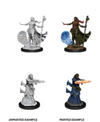 D&D Nolzur's Marvelous Miniatures: Human Wizard Female