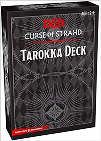 Dungeons & Dragons 5th Curse of Strahd Tarokka Deck