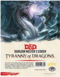 Dungeons & Dragons 5th Dungeon Master's Screen - Tyranny of Dragons