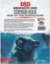 Dungeons & Dragons 5th Dungeon Master's Screen - Icewind Dale