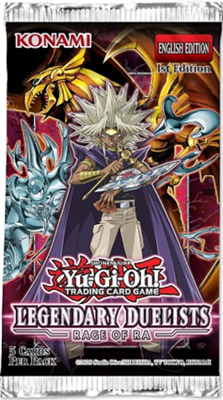 YGO Legendary Duelist: Rage of Ra Booster Pack