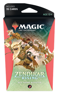Zendikar Rising Theme Booster - Red