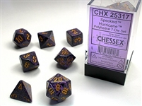 CHESSEX SPECKLED 7-DIE SET HURRICANE