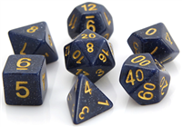 DIE HARD DICE POLY RPG SET - BLUE GALAXY