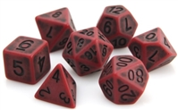 DIE HARD DICE POLY RPG SET - BLOOD ANCIENT GOLEM