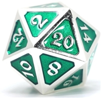 DIE HARD DICE DIRE D20 - MYTHICA PLATINUM EMERALD