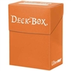 Ultra-Pro Solid Colour Deck Box - Orange