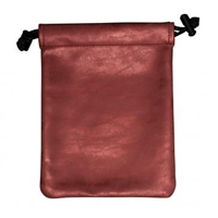 Ultra Pro Treasure Nest Dice & Accessory Bag - Ruby Suede