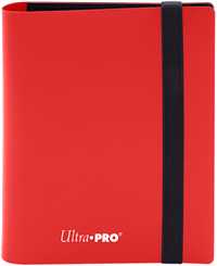 Ultra Pro 4 Pocket Pro-Binder - Apple Red