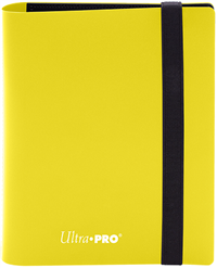 Ultra Pro 4 Pocket Pro-Binder - Lemon Yellow