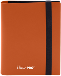 Ultra Pro 4 Pocket Pro-Binder - Pumpkin Orange