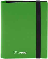 Ultra Pro 4 Pocket Pro-Binder - Lime Green